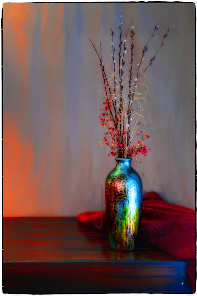 Blue Vase Fine Art Photograph