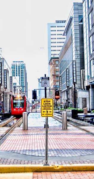 Houston City Center Train Crossing, DSC_1299