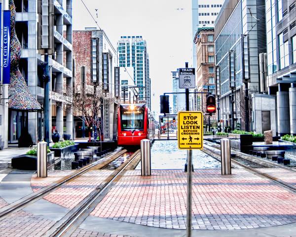 City Center, Houston Train Crossing on Main DSC_1299b