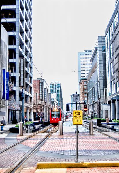 City Center, Houston Train Crossing on Main DSC_1299b Vertical