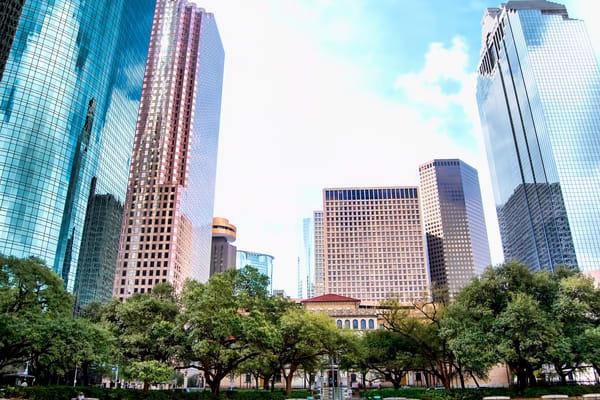 Houston Skyline Looking at Smith Street, DSC_1319