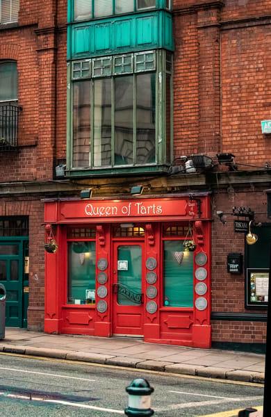 Red Door at the Queen of Tarts, Dublin