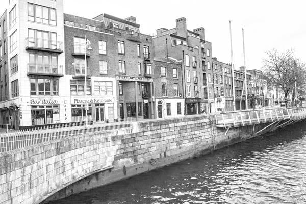 Dublin River Liffey Half Penny DSC_4185 bw.jpg