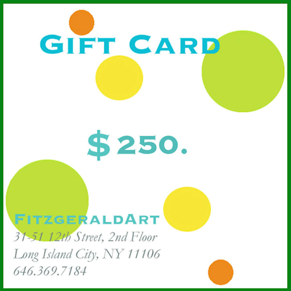 $250. Card | FitzgeraldArt