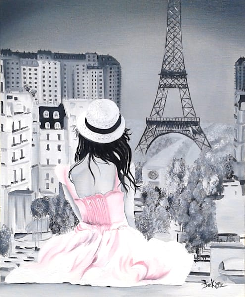 Girl In Paris Pink