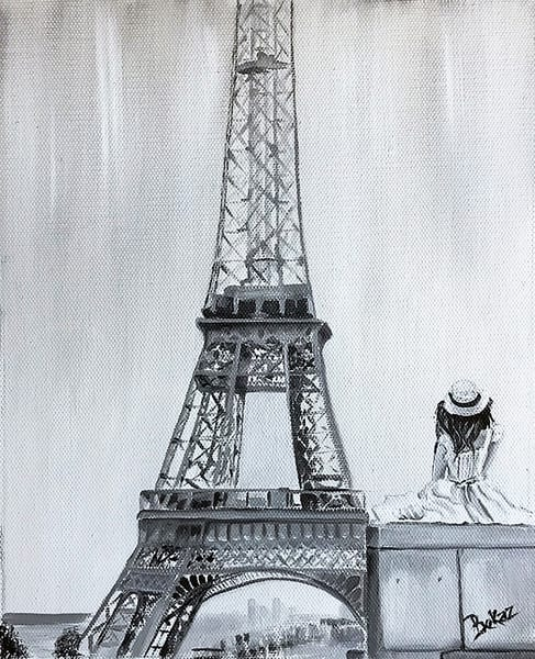 Eiffel Tower Paris Painting Cityscape