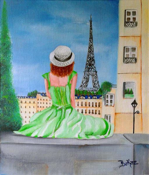Female In Paris