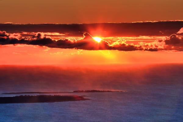 Cadillac Mountain Sunrise | Robbie George Photography
