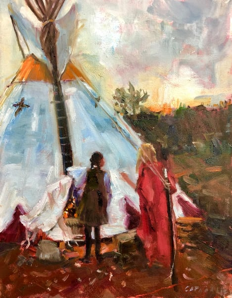 HOUSE OF TWO SPIRITS TIPI