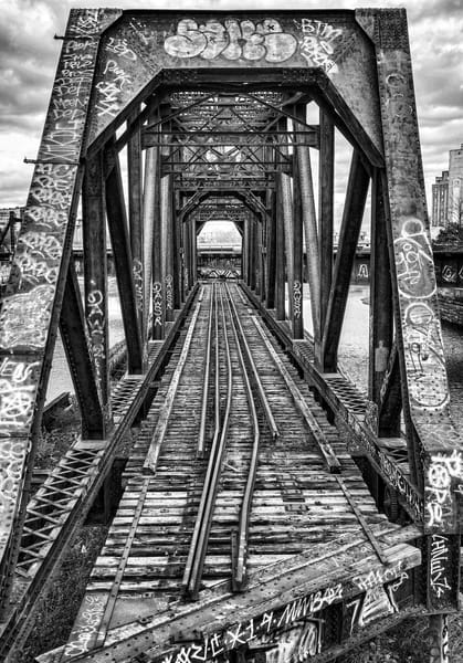 End of the Track - BW - Prints