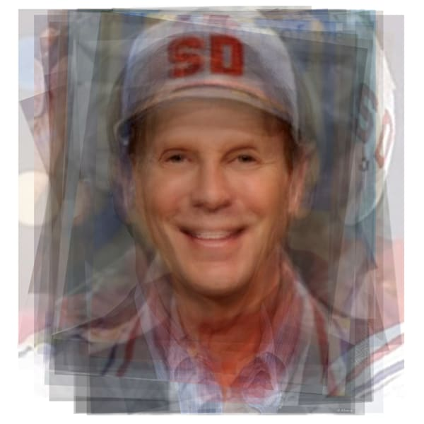 Overlay art – contemporary fine art prints of Bob Einstein, also known as Super Dave Osborne and Marty Funkhouser from Curb Your Enthusiasm.