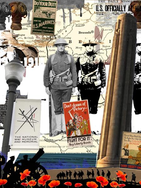 World War 1 visions of liberty fine art