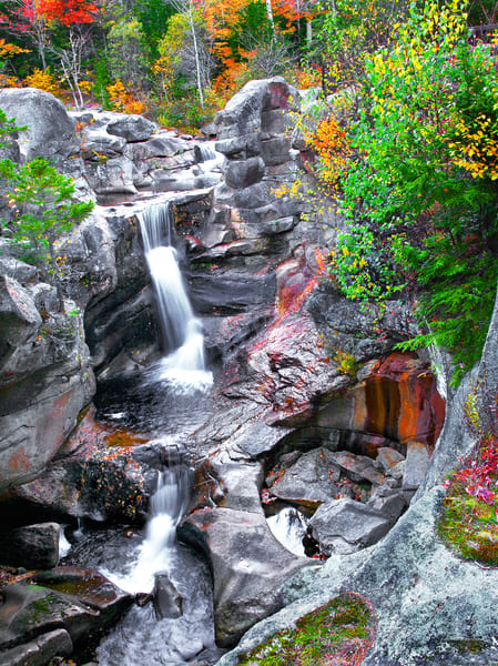 New England Waterfalls | Luscious Landscape Photography - Art By Smiths