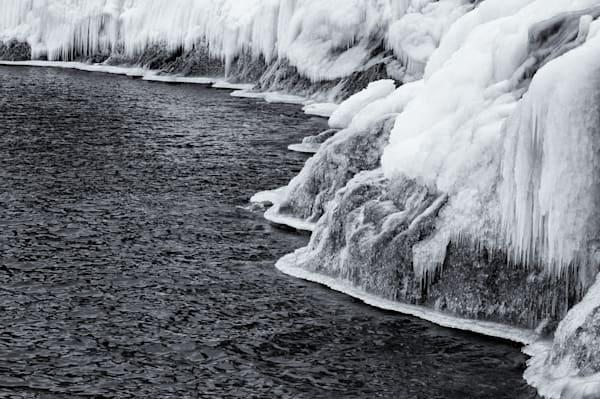 Iced-over, Minnesota