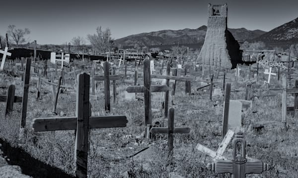 Cemetery   Taos Pueblo, New Mexico Photography Art | Namaste Photography