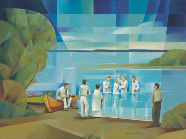 Baptism in the Uruguay River