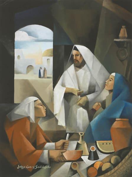 Jesus, Martha, and Mary