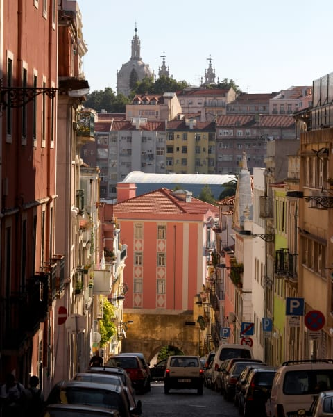 Lisbon Streets:  By Shane O'Donnell