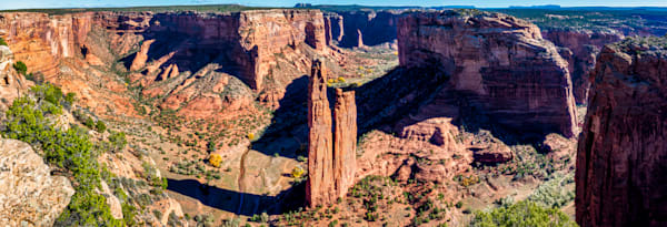 Spider Rock panorama photography