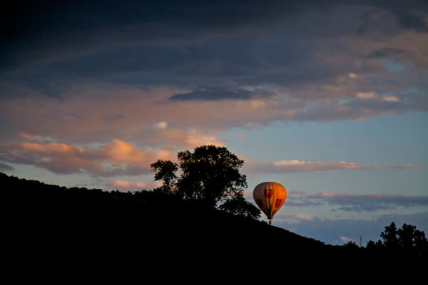 Hot Air Balloon in New York Upstate | Amazing Landscape Photography - Art By Smiths