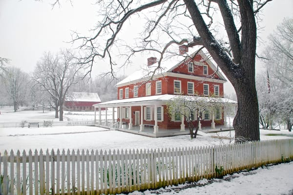 The Rockford House | Wintry Landscape Photography - Art By Smiths