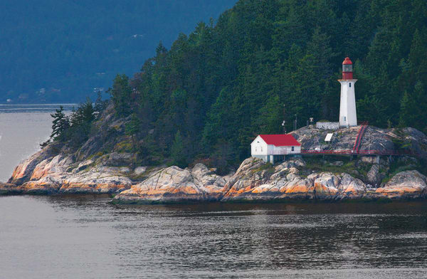 Vancouver Lighthouse | Beacon of Hope Seascape - Art By Smiths