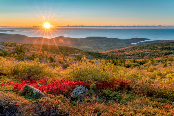 Cadillac Mountain Acadia National Park | Robbie George Photography