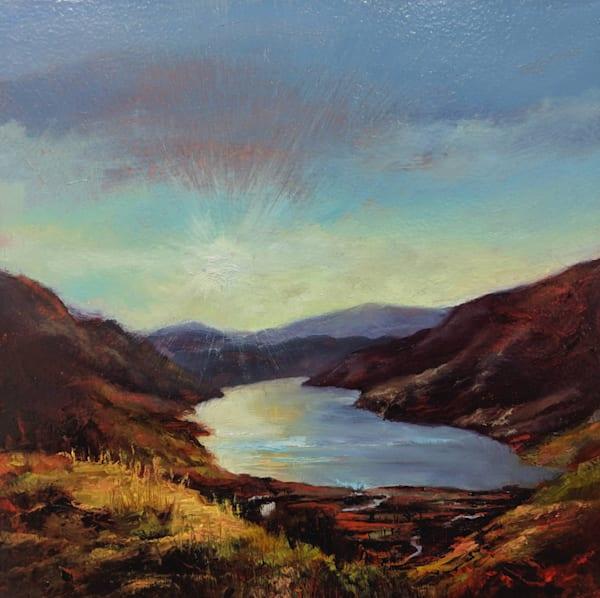 Sunset on St Mary's Loch