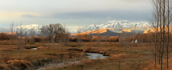 morning in the wasatch back