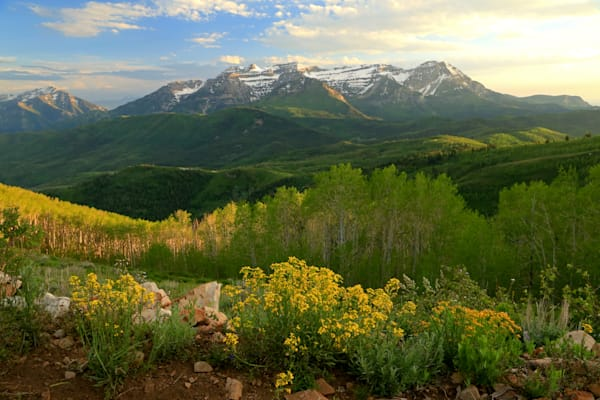 Timpanogos from Mill Canyon Peak1