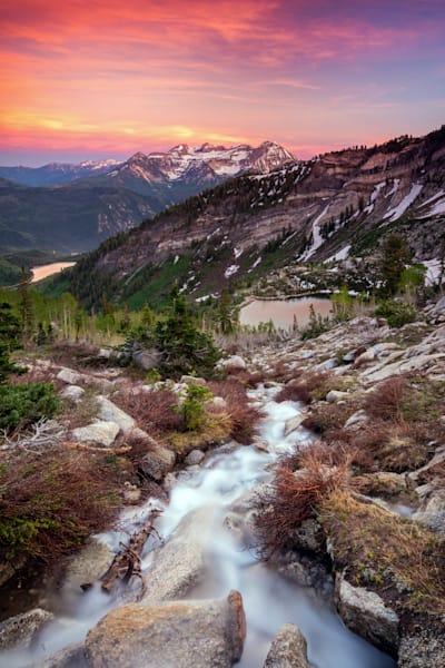 American Fork Canyon Sunset