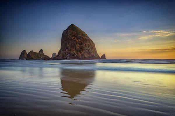 Haystack Rock by Rick Berk