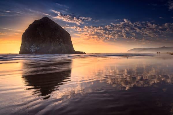 Sunset on Cannon Beach by Rick Berk