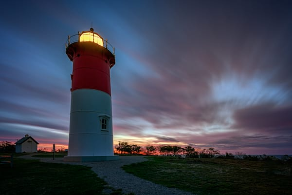Nauset Lighthouse by Rick Berk