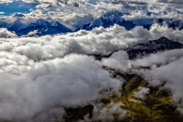Ten Thousand Feet Over Denali by Rick Berk