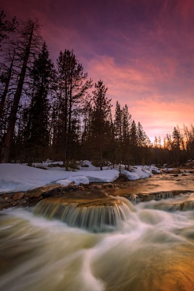 Uinta Waterfall Photography Art | Johnny Adolphson Photography