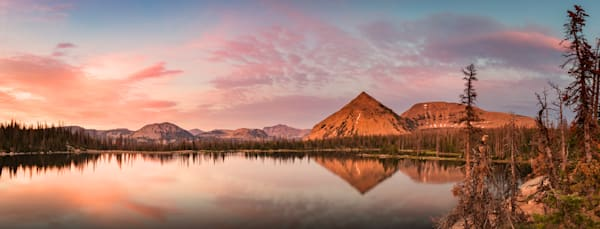 notch lake panorama