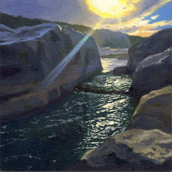 Golden Hour, Nature Paintings, The Art of Max Voss-Nester