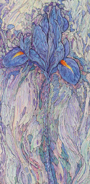 A Song About Iris II | Col Mitchell Contemporary Paper Artist