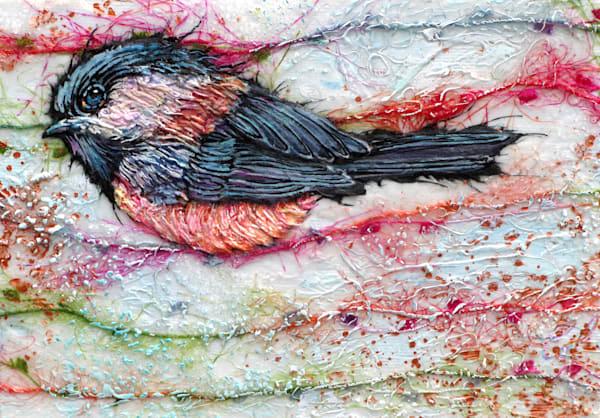 Candied Chickadee VI | Col Mitchell Contemporary Paper Artist