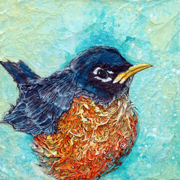 Robin II | Col Mitchell Contemporary Paper Artist