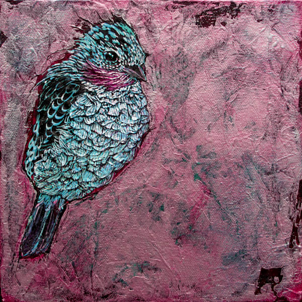 Spangled Cotinga I | Col Mitchell Contemporary Paper Artist