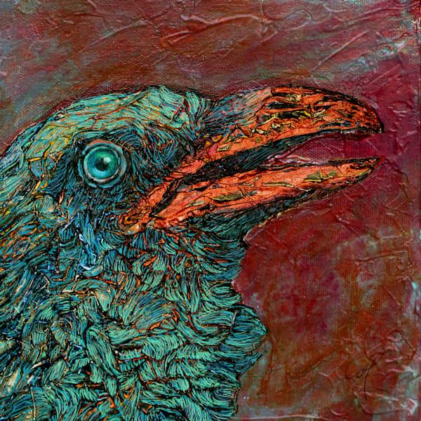 Copper Raven II | Col Mitchell Contemporary Paper Artist