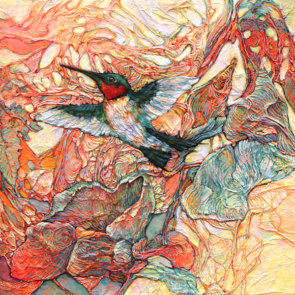 Made For This, Hummingbird | Col Mitchell Contemporary Paper Artist
