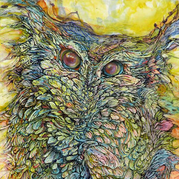 Love Bird II, Owl | Col Mitchell Contemporary Paper Artist