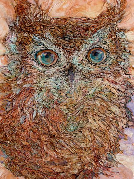 Hello, Owl | Col Mitchell Contemporary Paper Artist