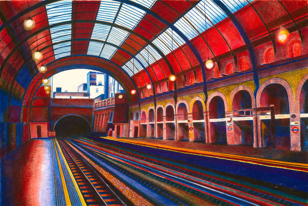 London Metro To Nottingham Station