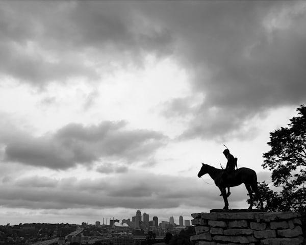 Kansas City Scout, skyline, landscape photography, print, fine art