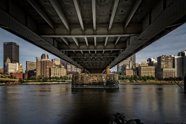 Under The Roberto Clemente Bridge by Rick Berk