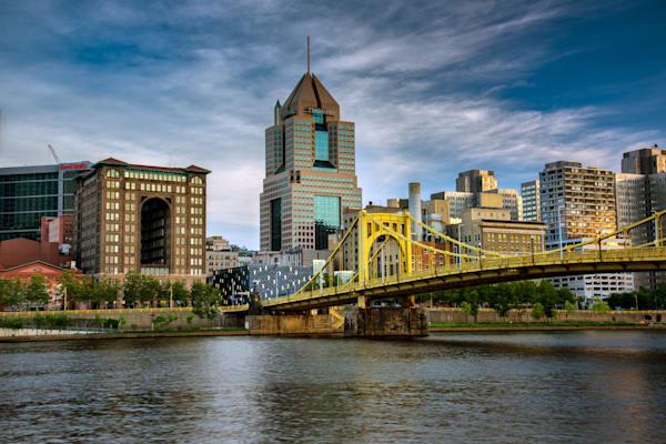 City of Bridges, Pittsburgh PA by Rick Berk
